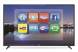 تلفزيون ليد ذكي الترا اتش دي بدقة 4 كيه مقاس 50 بوصة لون اسود UHD50SLED2 من نيكاي