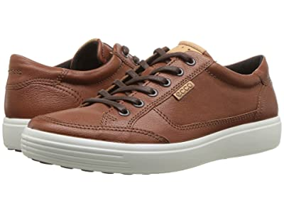 ECCO Soft Retro Sneaker (Cognac) Men