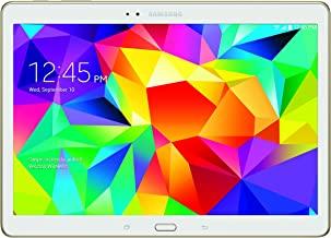 Samsung Galaxy Tab S 4G LTE Tablet, Dazzling White 10.5-Inch 16GB (Verizon Wireless)