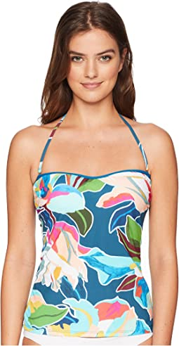 Go with The Flo-Ral Bandini Top