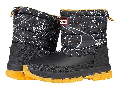 Hunter Original Insulated Snow Boot Short (Molecular Splash Hunter Black) Women
