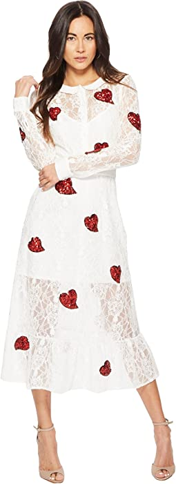 For Love and Lemons La Zosia Midi Dress