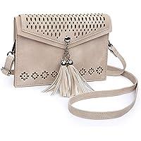 seOSTO Tassel Cell Phone Women's Small Crossbody Bag