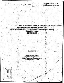 epa land disposal restrictions