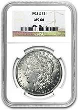 1921 S Morgan Dollar MS-64 NGC $1 MS-64 NGC