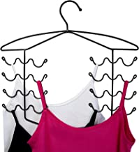 2 Pack Bronze Women's Bra Sport Tank Camisole Top Swim Suit Strap Dress Hanger Closet Organizer (2 Pack)