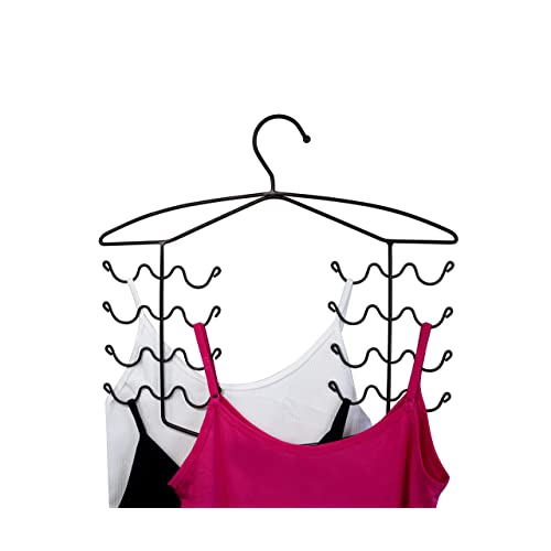 75a24ebca5 3 Pack Women s Bra Sport Tank Camisole Top Swim Suit Strap Dress Hanger  Closet Organizer (