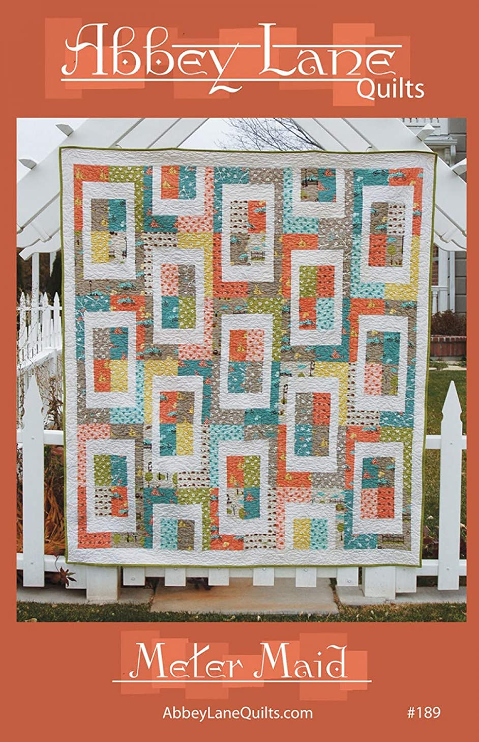 Meter Maid Quilt Pattern by Abbey Lane Quilts #189 64