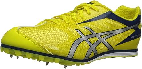 ASICS Hommes's Hyper LD 5 chaussures,Flash jaune argent Navy,7 M US