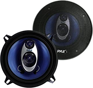 "$21 » Pyle PL53BL 5.25"" 200W 3-Way Car Audio Triaxial Speakers Stereo Blue (Pair) (Renewed)"