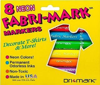 Drimark Fabri Mark Neon Colors Pen (8 Pack)