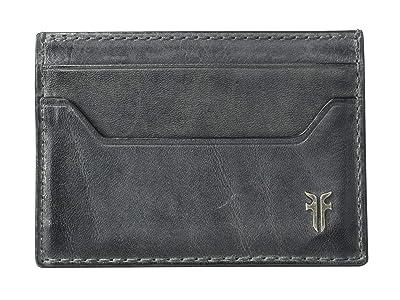 Frye Austin Card Case (Carbon) Handbags