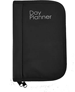 Garrison Grip Nylon Canvas w/Faux Leather Binder Day Planner Gun Case for Carrying SM/LG Gun