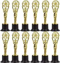 Plastic vergulde trofee - Mini Award-trofeeën voor filmmakers Filmliefhebbers Themafeesten voor feestsportspellen Prijs Sp...