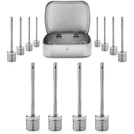 Air Pump Needle,Dual-Port Inflation Needles,Pump Needle Adaptor for Football Ba
