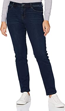 Morgan Jeans Regular Taille Standard À Poches Peach Casual Pants Femme