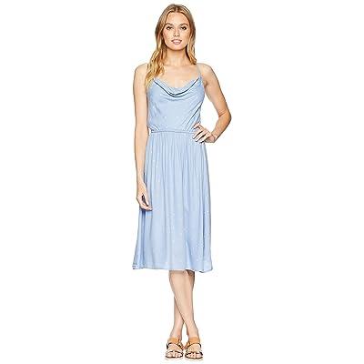 Volcom Mystic Mama Dress (Misty Blue) Women