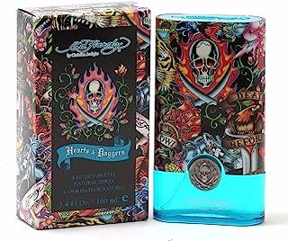 New Ed Hardy HEARTS & DAGGERS 3.4 Oz Eau De Toilette (EDT) Spray for Men