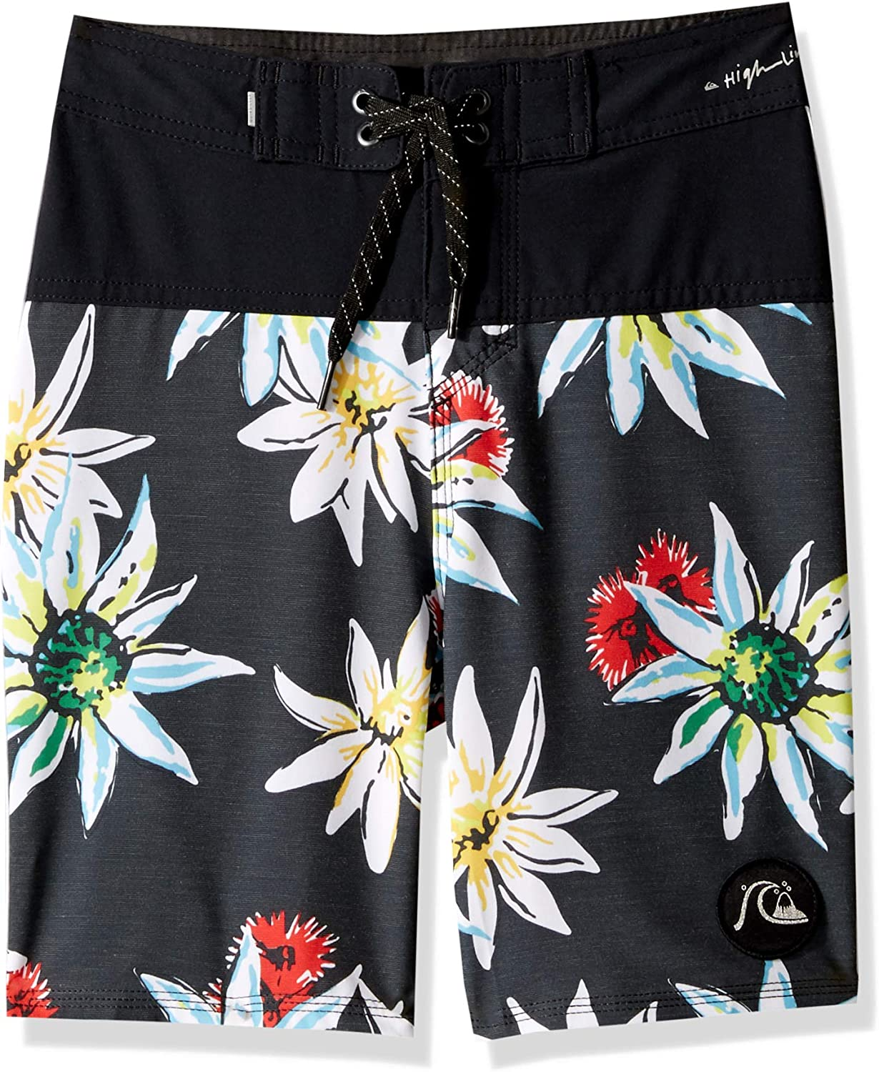 Quiksilver Boys Big Highline Devils Tea Youth 17 Boardshort Swim Trunk