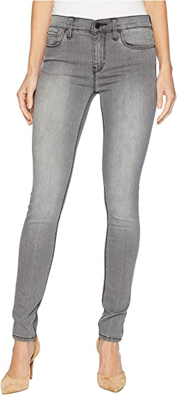 Nico Mid-Rise Skinny Jeans in Trooper Grey