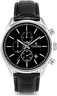 Vincero Luxury Men's Chrono S Wrist Watch - 40mm Chronograph Watch - Japanese Quartz Movement…