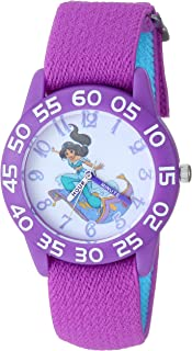 ساعة ديزني للبنات مع حزام نايلون، 15.9 سم (WDS000655)