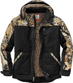 Legendary Whitetails Canvas Cross Trail Workwear Jacket, Army Mossy Oak Country