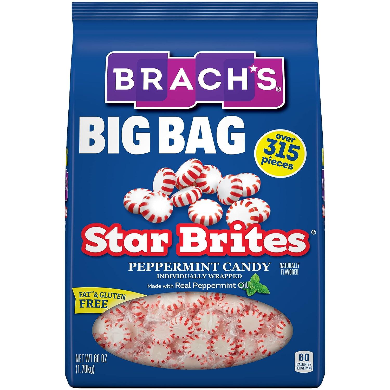 Brach's store Star Brites Peppermint San Diego Mall Hard Candy 1 60 PACK O oz.
