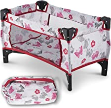 Litti Pritti Take Along Travel Crib Pack and Play Accessory for Dolls – Perfect for..