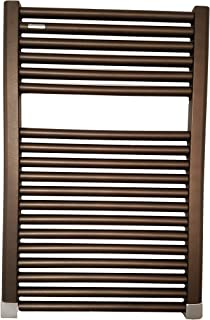 ICO H3405 23.5x47.5 Avento Hydronic Towel Warmer In Matte Black