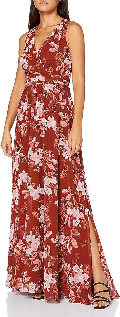 Comma Damen 8t 007 81 2274 Kleid 38a5 Geblumt 42 Amazon De Bekleidung