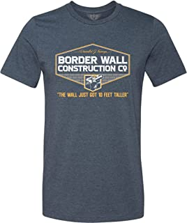 Men's Donald Trump Border Wall Construction Company T-Shirt