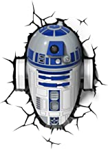 Star Wars R2d2 3D Wall Light