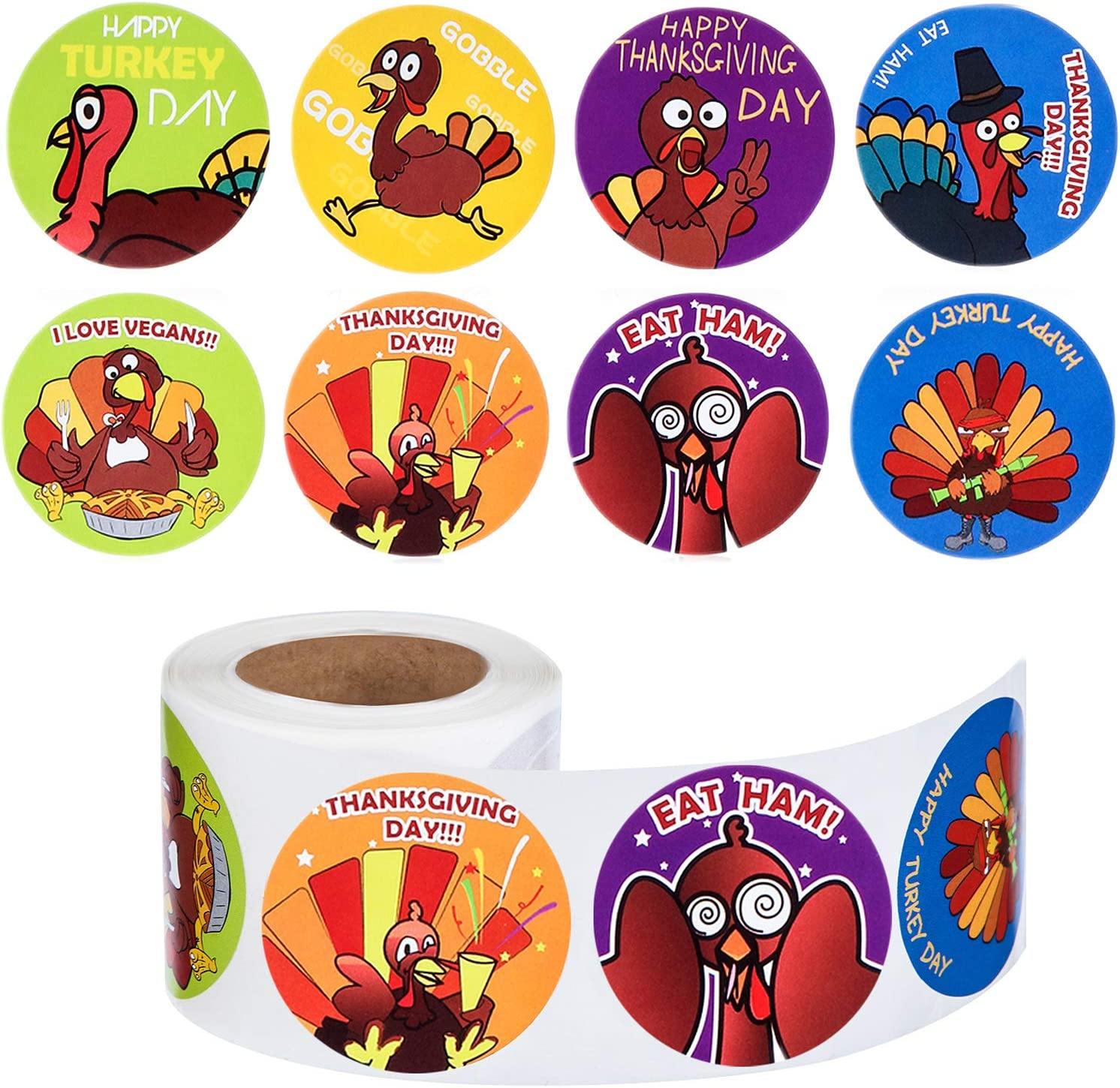 Outus Classic 200 Pieces Thanksgiving Pe Stickers Cheap sale Turkey