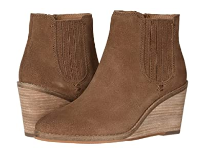 FRYE AND CO. Kaye Chelsea (Cognac Suede) Women