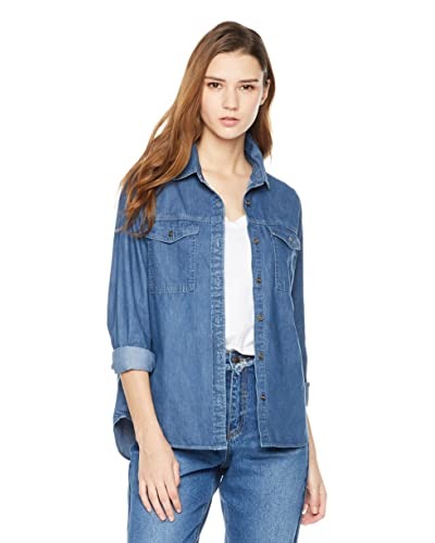 d9584bce6a4 Women s Denim Shirt  Amazon.com