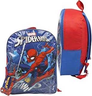 """Kids Character Backpacks for Boys & Girls (15"""") with Adjustable, Padded Back Straps"""