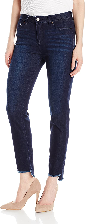 Jordache Legacy Womens Corey Highrise Straight Ankle Jean