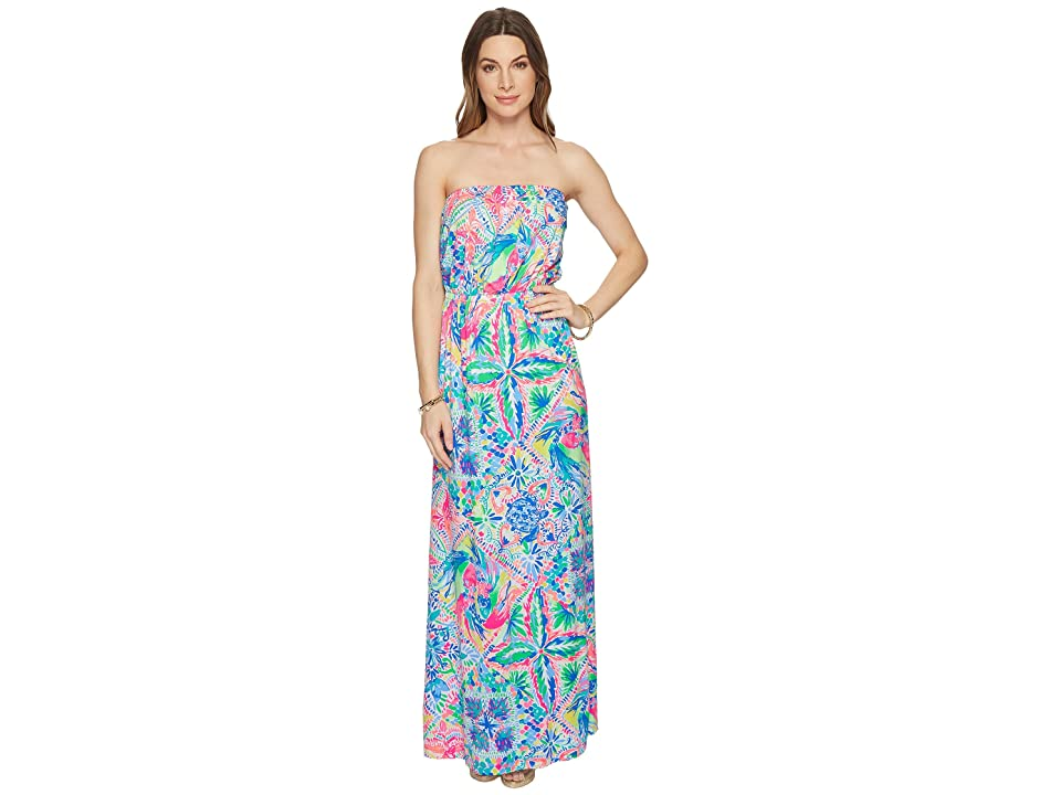Lilly Pulitzer Marlisa Maxi Dress (Multi Dancing on The Deck) Women