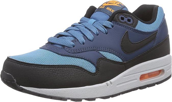 Nike Men's Air Max 1 Essential Blue/Black/White ... - Amazon.com