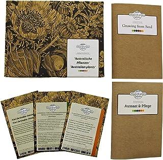 Plantas australianas - set de semillas regalo con 3 variedades típicas de Down Under