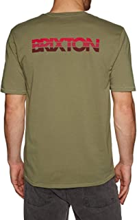 Brixton Interceptor II Pocket Short Sleeve T-Shirt