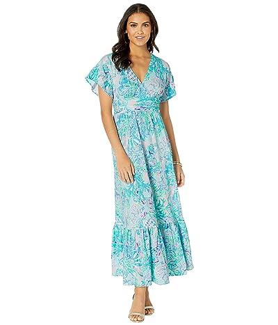 Lilly Pulitzer Jessi Midi Dress (Amethyst Tint Craysea) Women