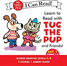 Learn to Read with Tug the Pup and Friends! Set 1: Books 1-5 (My Very First I Can Read)