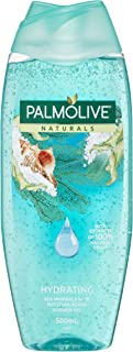 Palmolive Naturals Hydrating Body Wash Sea Minerals with Moisture Beads Soap Free, 500mL