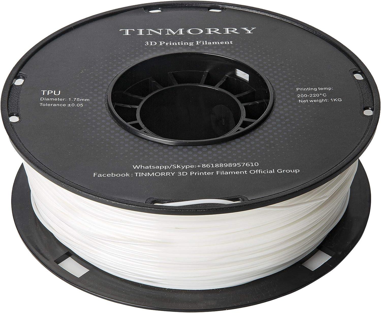 Filament PLA 1.75 mm pour imprimante 3D, TINMORRY Shiny 3D Printing Filament Silk Copper Bobine 1kg