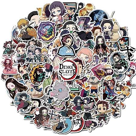 Demon Slayer Kimetsu no Yaiba Anime Stickers Vinyl Decals Laptop Wall Graffiti