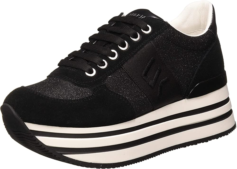 Lumberjack connie, sneakers da donna in pelle SW58111-001X92