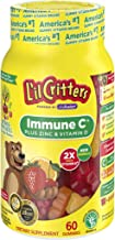Sponsored Ad - L'il Critters Gummy Vitamins, Immune C Plus Zinc & Vitamin D, 60 Count, Pack of 3 (Packaging May Vary)