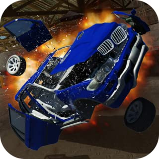 X5 BMW CRASH CAR 3D